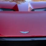 Огненно-красный Aston Martin Vulcan первый в США