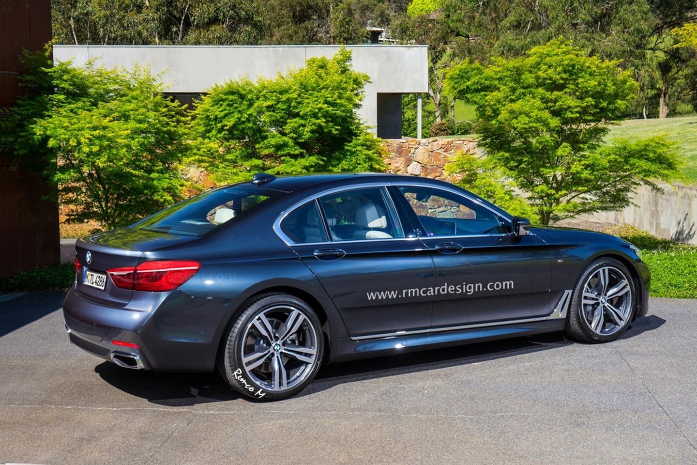 BMW 5-Series 2016 рендер от RM Design
