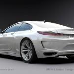 BMW 8-Series рендер-изображения независимого дизайнера