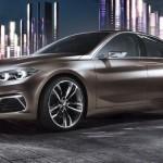 BMW Compact Sedan Concept - прототип седана 1-Series