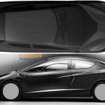 BMW неизвестный концепт на патентных изображениях