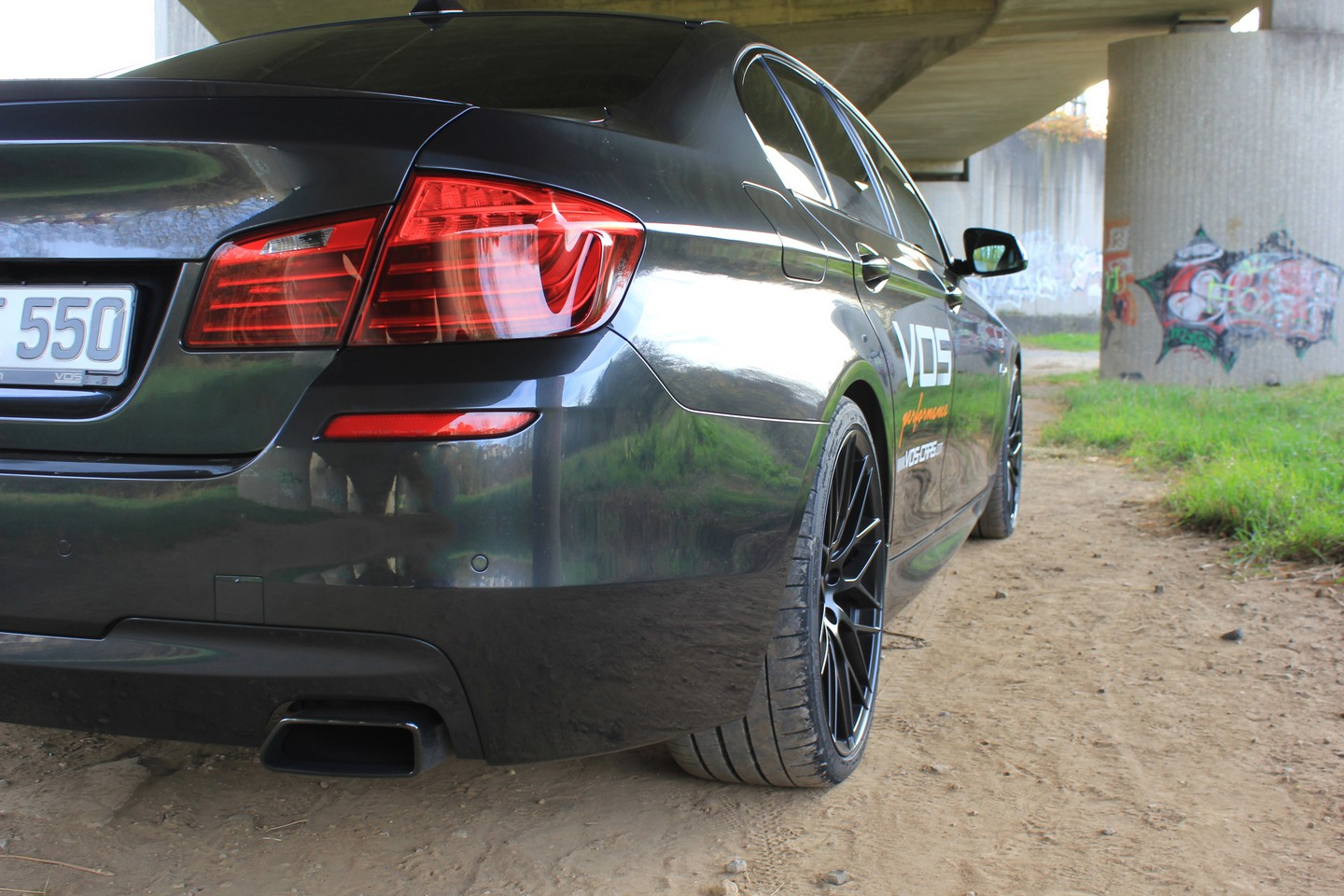 BMW M550d тюнинг от VOS (Vision of Speed)