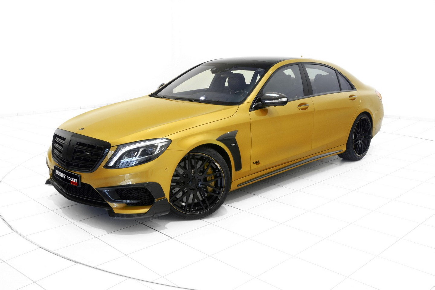 Brabus Rocket 900 Desert Gold Edition tuning / тюнинг Mercedes-Benz S65 AMG
