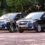 Chevrolet Cobalt 2016 шпионское фото