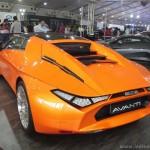 DC Avanti оранжевый сзади