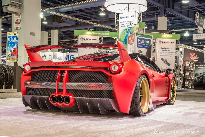 Ferrari 458 Italia тюнинг Misha Design