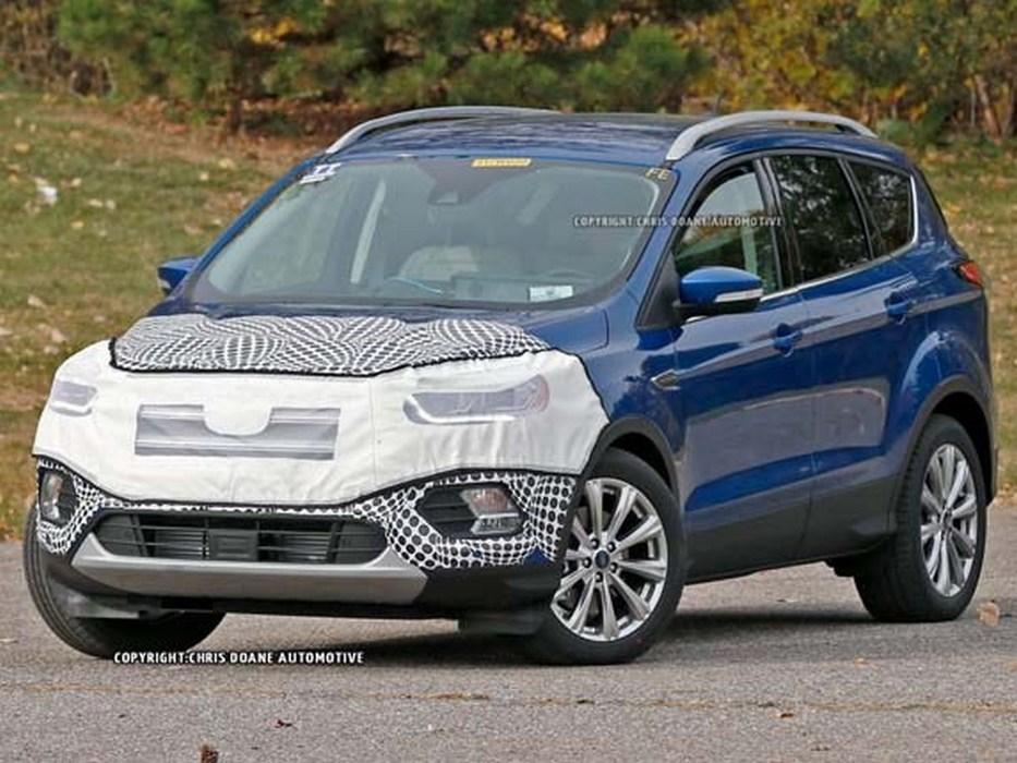 Ford Kuga 2016 шпионское фото