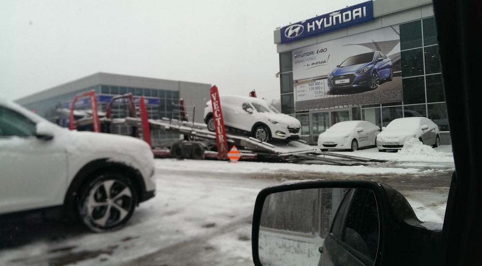Начались поставки Hyundai Tucson 2016 российским дилерам