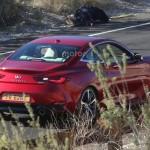 Infiniti Q60 Coupe 2017 шпионское фото
