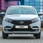 Lada XRAY официальное фото - передняя часть
