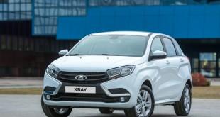Lada XRAY официальное фото - вид спереди