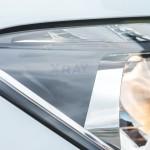 Lada XRAY официальное фото - головная оптика сбоку (включена)