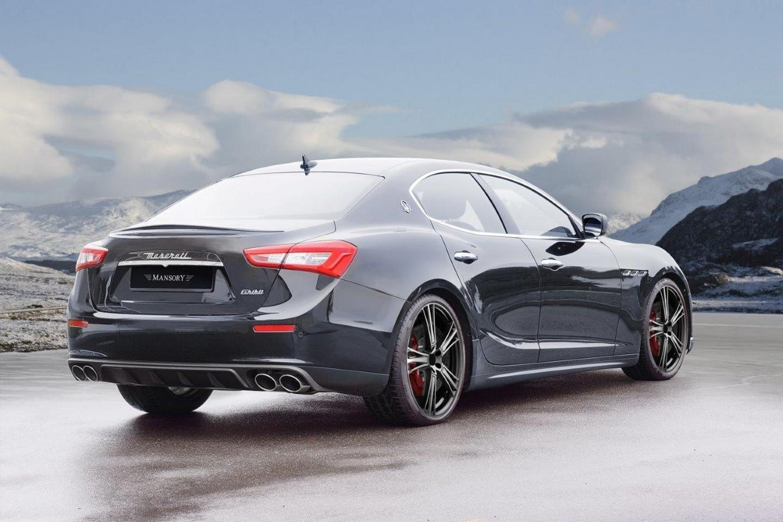 Maserati Ghibli tuning / тюнинг Mansory