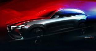 Mazda CX-9 тизер