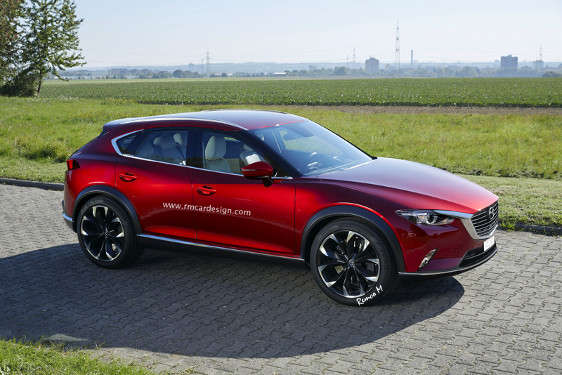 Mazda CX-9 рендер-изображение нового поколения