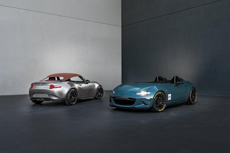 Mazda MX-5 Spyder и MX-5 Speedster Concepts