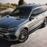 Mercedes-Benz GLS 2016 фото утечка