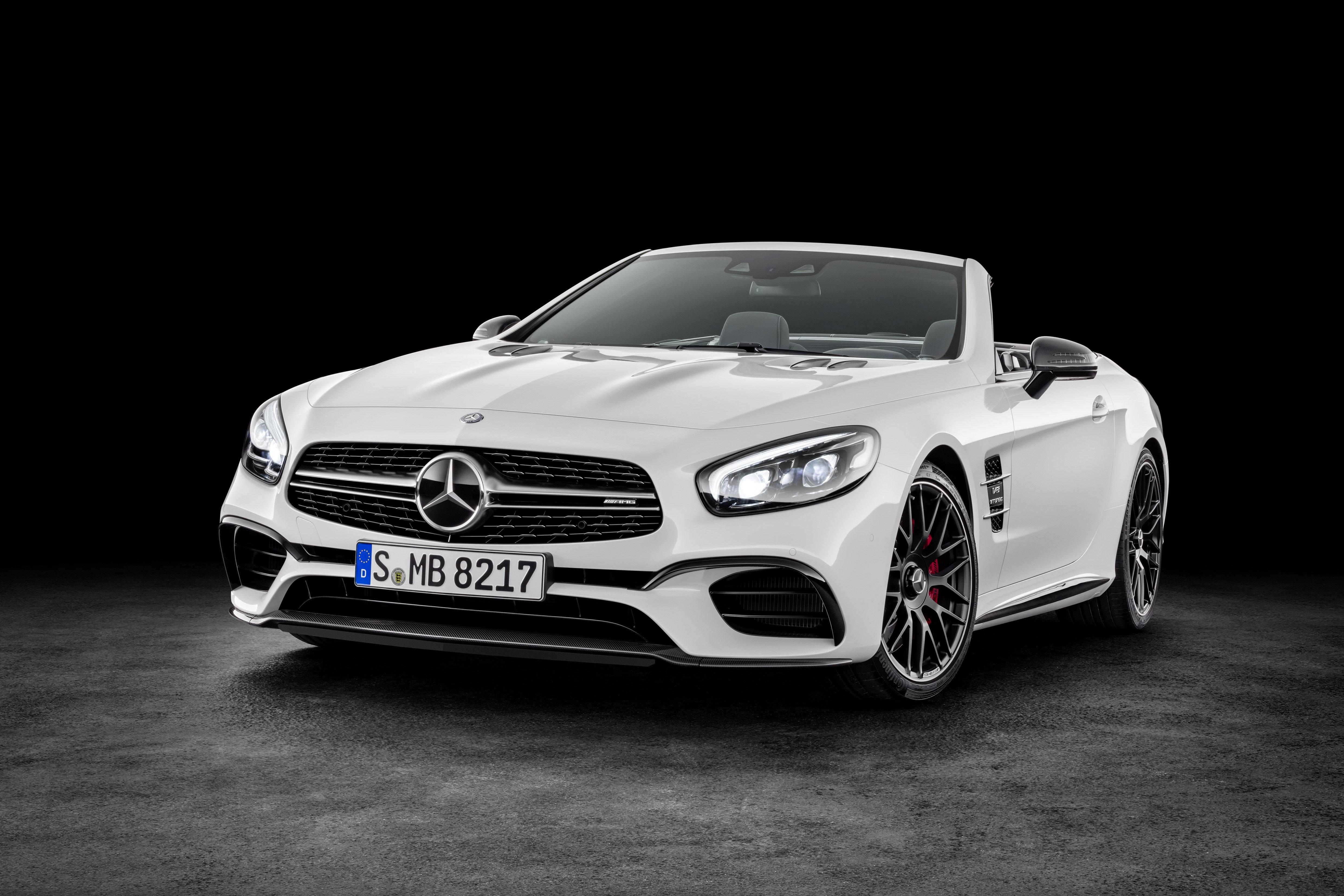 Mercedes-Benz SL обновленный официальное фото