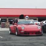 Porsche 911 (993) 1995 года тюнинг от RWB