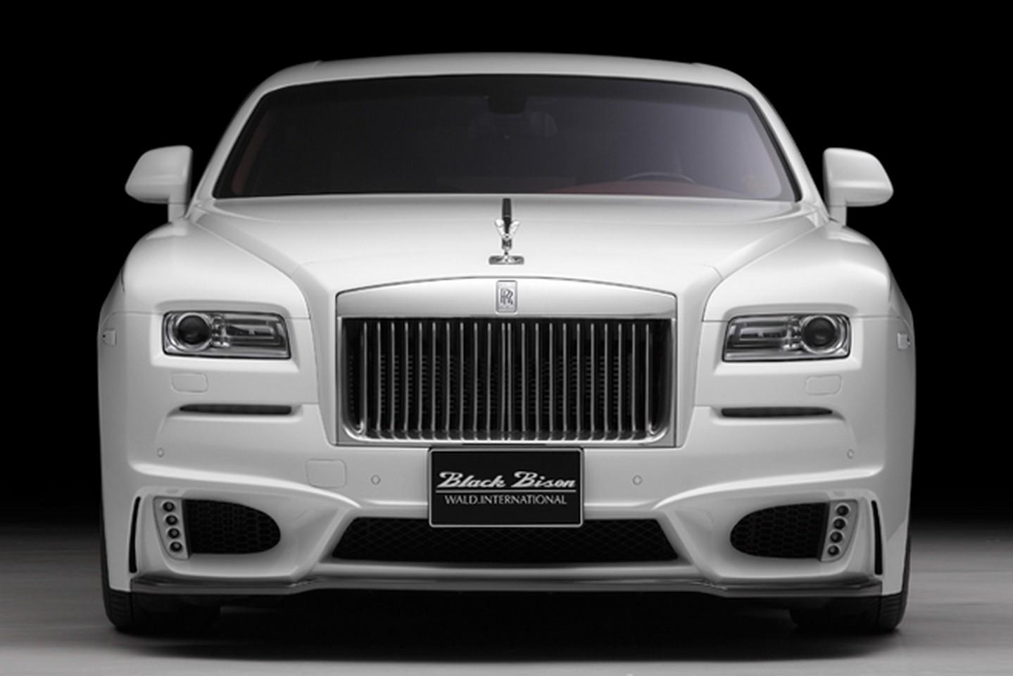 Rolls-Royce Wraith Black Bison tuning / тюнинг Wald International