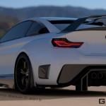 BMW M4 MAMBA GT3 Street Concept от Hoffy Automobiles и Casborn Styling Studio