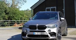 BMW X5 M тюнинг от Manhart