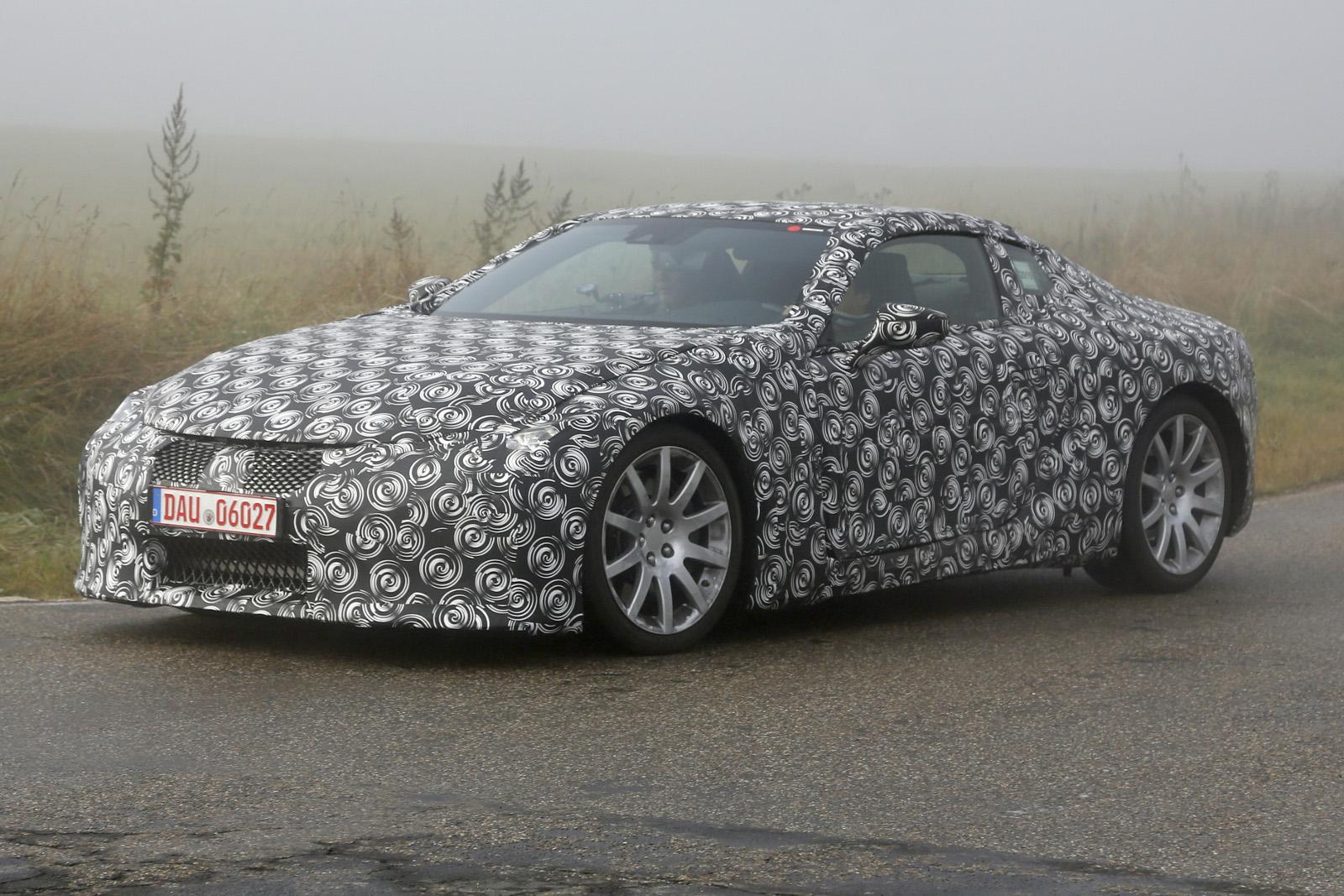 Lexus LF-LC шпионское фото
