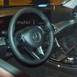 Mercedes-Benz E-Class 2016 шпионское фото интерьера