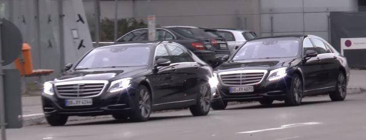 Mercedes-Benz S-Class обновление