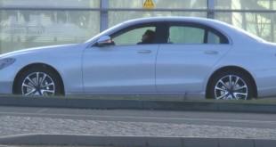 Mercedes E-Class 2016 скрин со шпионского видео