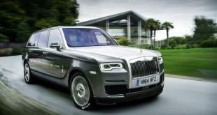 Rolls-Royce Cullinan независимый рендер