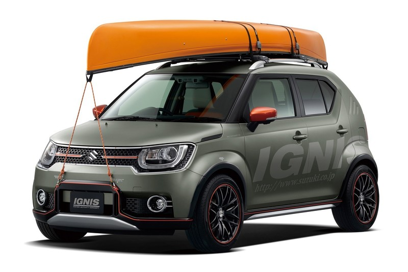 Suzuki Ignis Water Activity Концепт