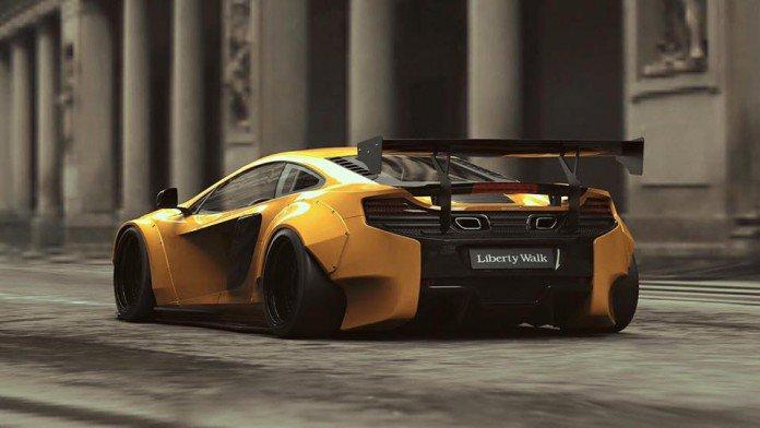 McLaren 650S тюнинг Liberty Walk