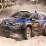 Volkswagen Touran ралли-кар
