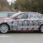 BMW 1-Series Sedan шпионское фото