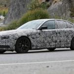BMW 5-Series 2017 плагин гибрид - шпионское фото