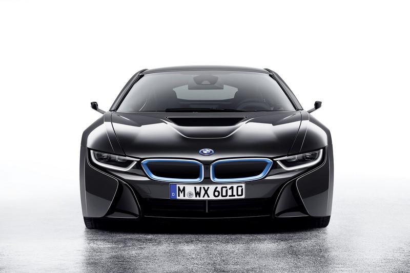 BMW i8 Mirrorless концепт