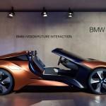 BMW i8 Vision Future Interaction на CES 2016