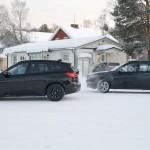 BMW X1 длиннобазная версия шпионское фото