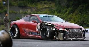 Lexus LC 500 независимый рендер дрифт версии