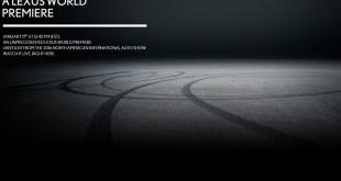 Lexus тизер новой модели для Детройта