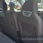 Mahindra KUV100 interior rear seats view / интерьер вид с задних сидений