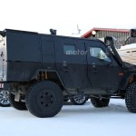 Mercedes G-Class Light Armoured Patrol Vehicle шпионское фото