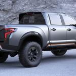 Nissan Titan Warrior официальное фото концепта