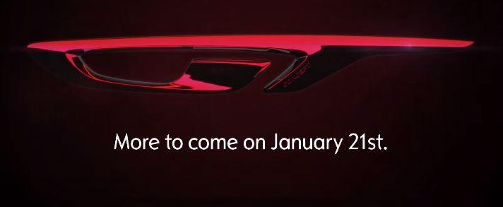 Opel GT Concept скрин из видео тизера