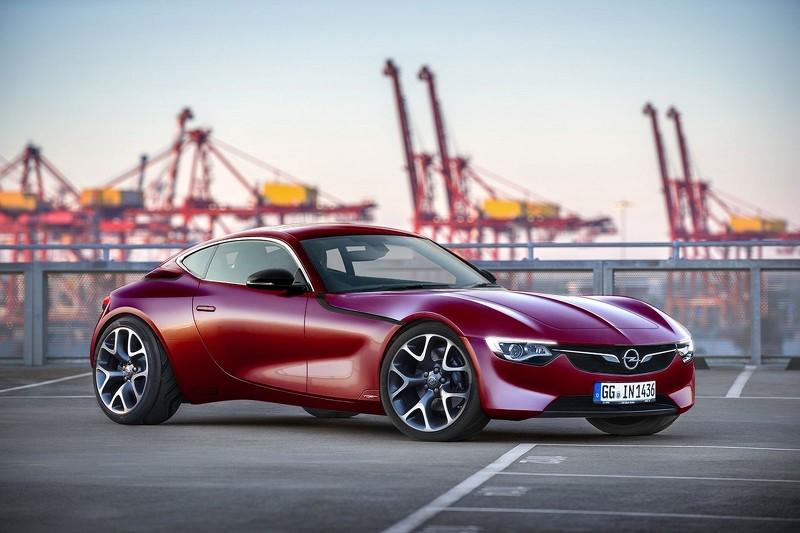Opel GT неофициальный рендер серийной версии