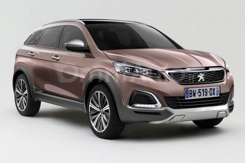 Peugeot 3008 2016 рендер