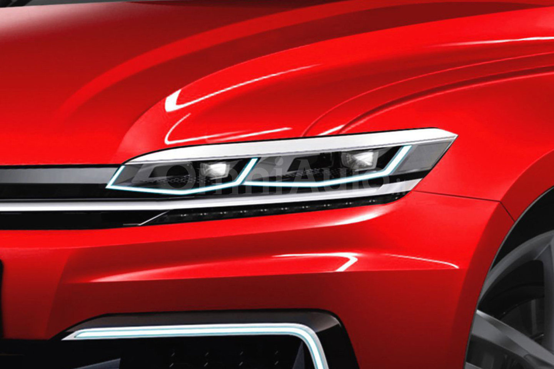 Volkswagen Golf 2017 независимый рендер