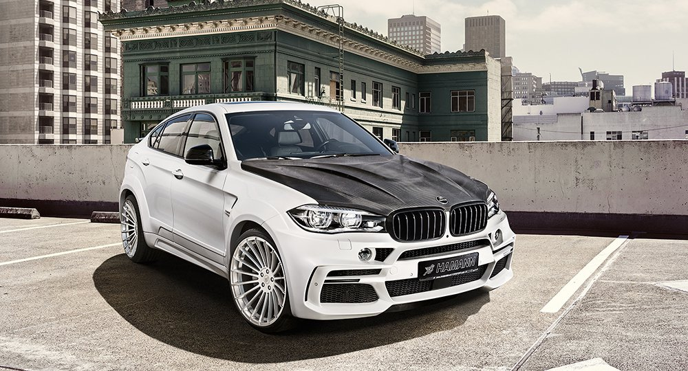 BMW X6 M50d тюнинг от Hamann