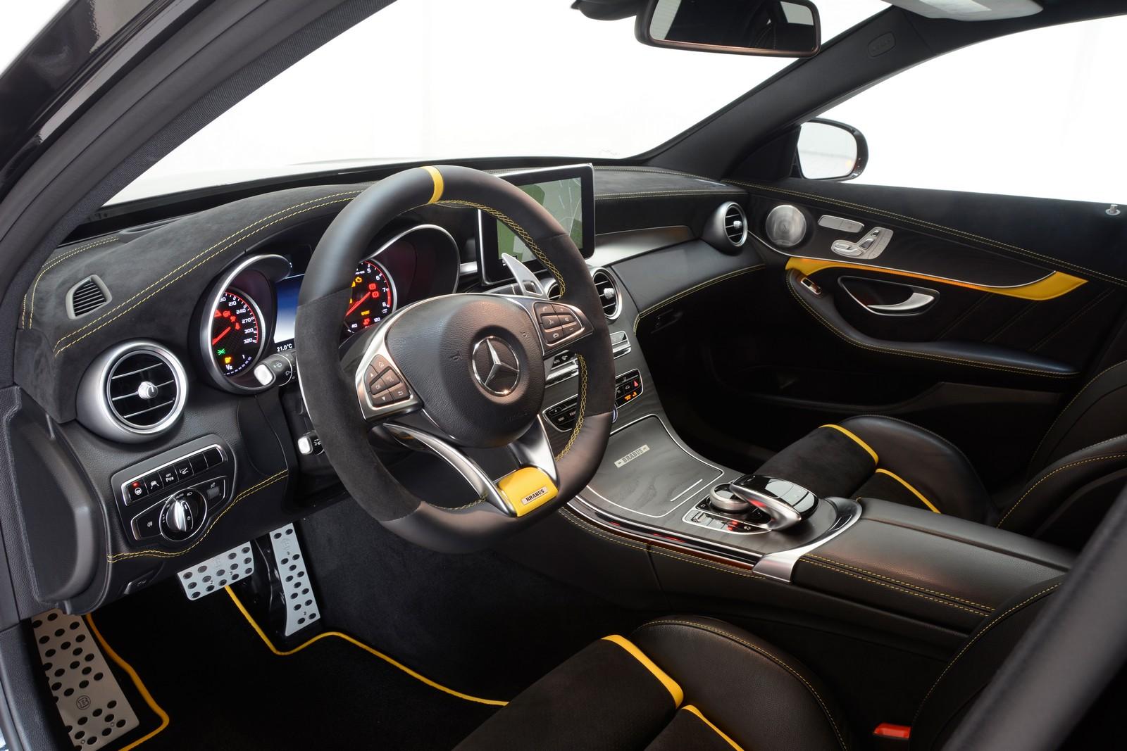 Mercedes-AMG C63 S тюнинг от Brabus